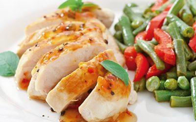 El pollo como alternativa dietética nutritiva y controlada en sodio.